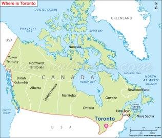 toronto-location-map