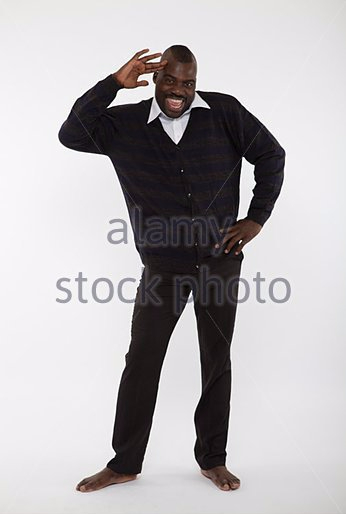 Bobby Ologun strikes a pose.